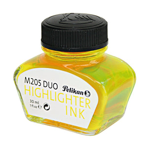 Pelikan Classic M205 DUO Highlighter Fountain Pen Ink - 30ml