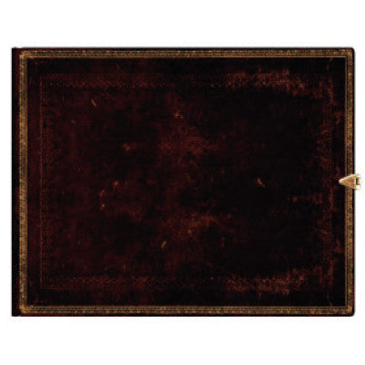 Paperblanks Old Leather Black Moroccan - Guest Book