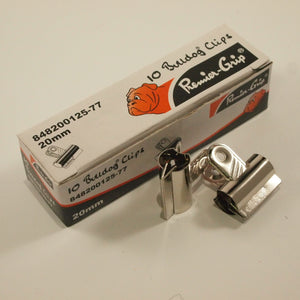 Bulldog clip nickel 20 mm