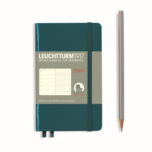 LEUCHTTURM1917 Pocket (A6) Weekly Planner and Notebook 2020 (Softcover)