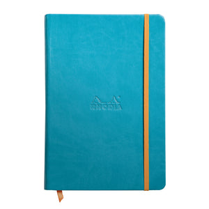 Rhodia Rhodiarama Hardcover (A5) Notebook Turquoise