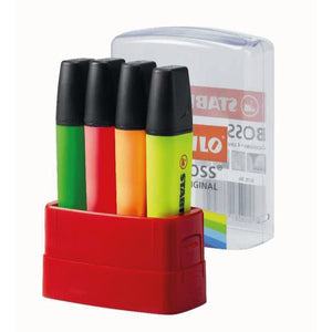 STABILO BOSS Original Highlighters (4) Image 1
