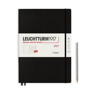 LEUCHTTURM1917 Master (A4+) Weekly Planner and Notebook 2021