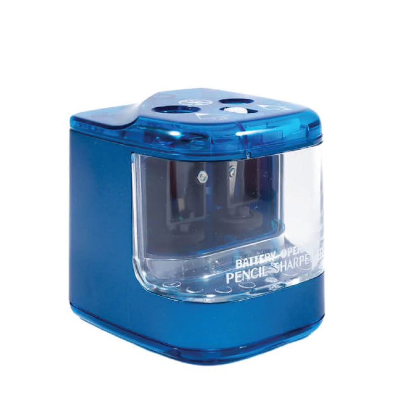 Jakar Battery Operated Pencil double Pencil sharpener blue
