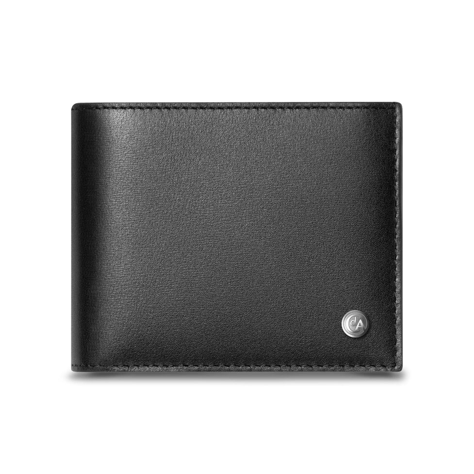 Caran d'Ache Haute Maroquinerie 4-Card Leather Wallet With Coin Case