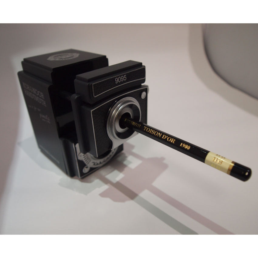 Koh-I-Noor Camera Hand Crank Desk Top Pencil Sharpener