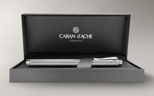 Caran d'Ache Ecridor Chevron Mechanical Pencil - Palladium