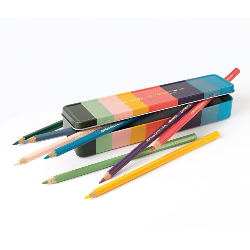 Caran d'Ache + Sir Paul Smith Supracolor Soft Colouring Pencils