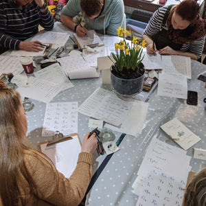 Modern Calligraphy workshop image 6