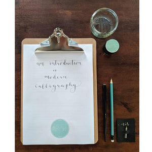 Modern Calligraphy workshop image 7