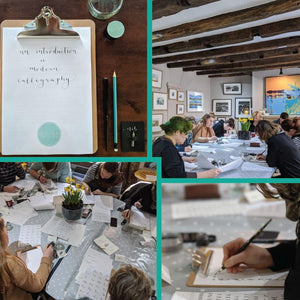 Modern Calligraphy workshop image 1