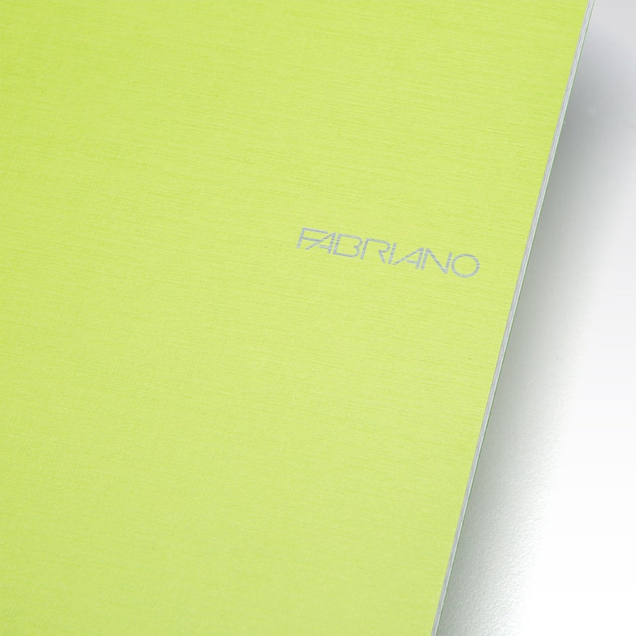 Fabriano Ecoqua A5 spiral bound lined notebook