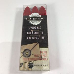 Manuscript Sealing Wax - triple pack