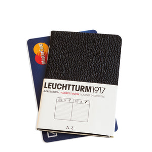 LEUCHTTURM1917 x-Mini (A8+) Address Book Size Comparison
