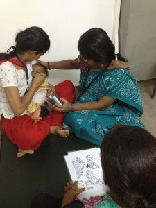 The new Rehydration Unit: Adapting ORS training and treatment for the mothers of Fakir Bagan in Calcutta