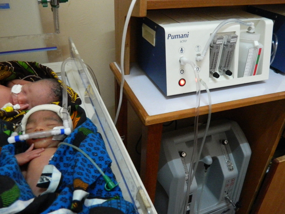 An exchange with the inventor of the Pumani bubble CPAP