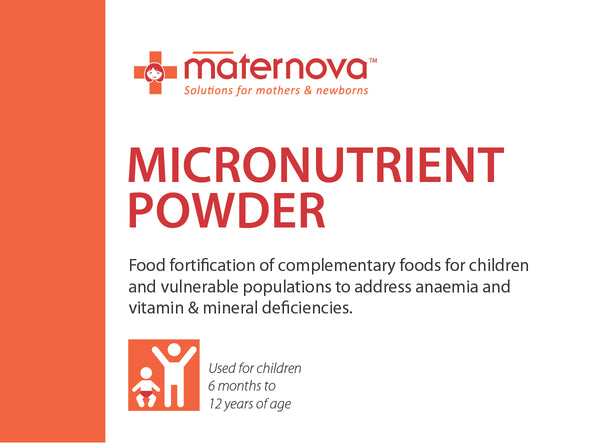 Micronutrient powder (MNP) - Maternova Inc.