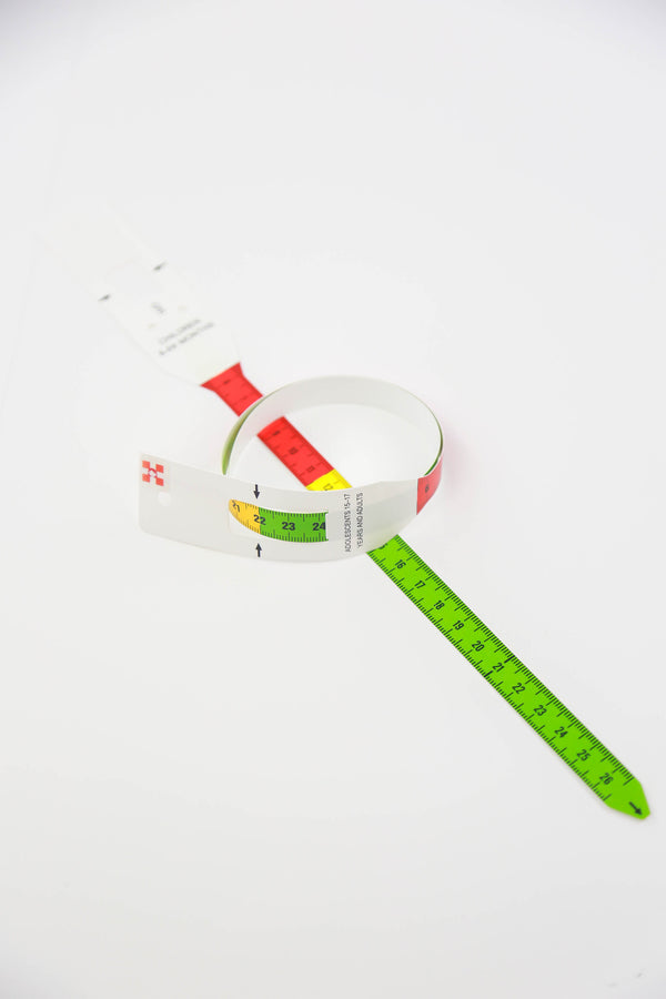 MUAC Tape - Mid Upper Arm Circumference (500 Tapes) - Maternova Inc.