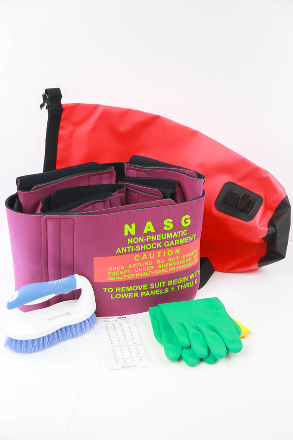 Non pnuematic anti shock garment