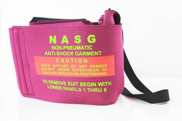 Non Pnuematic Anti Shock Garment, Box of 4, Minimum order 16