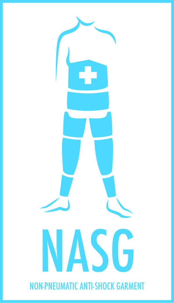 NASG shcok garment distributed by Maternova