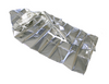 Infant Mylar Wrap for Emergency Transport