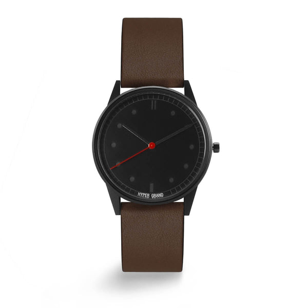 BLACKOUT CLASSIC BROWN - quality watches made affordable by HYPERGRAND