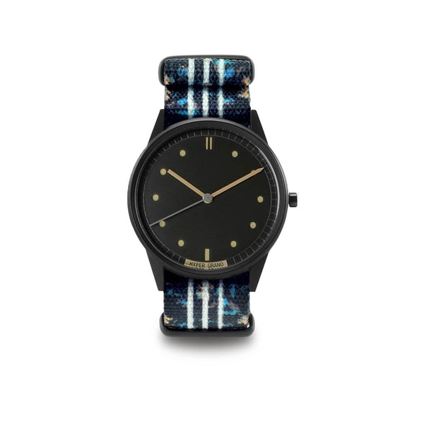 Black Vintage Nato - quality watches made affordable by HYPERGRAND