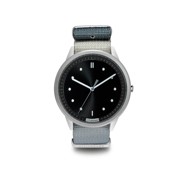 Silver Black NATO - quality watches made affordable by HYPERGRAND