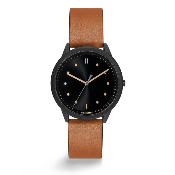 BLACK VINTAGE CLASSIC HONEY - quality watches made affordable by HYPERGRAND