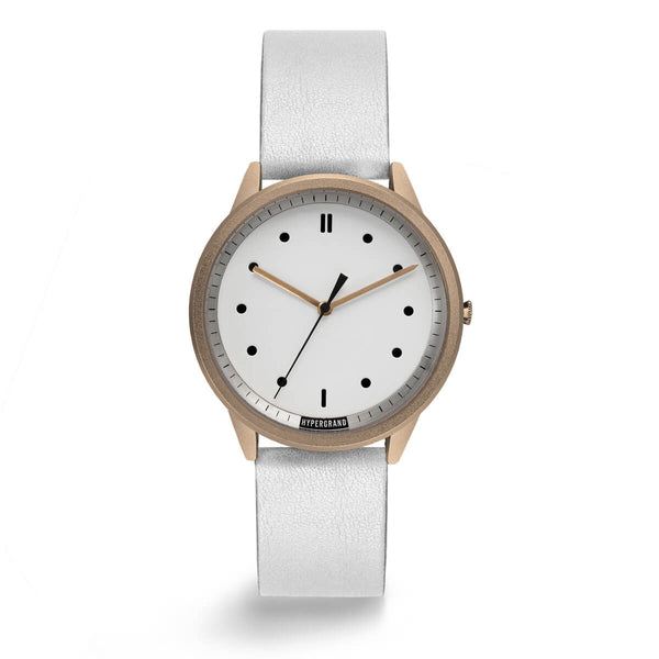 ROSE WHITE CLASSIC WHITE - quality watches made affordable by HYPERGRAND