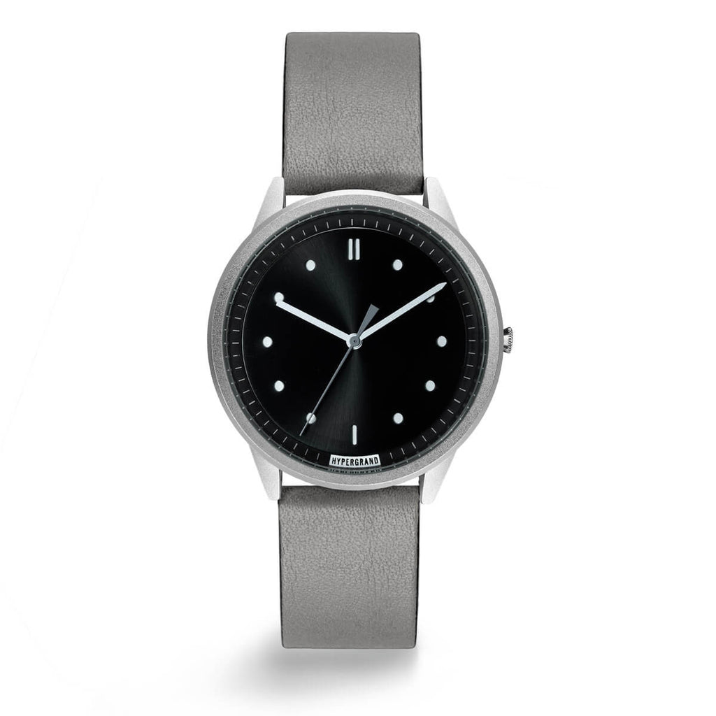 SILVER BLACK CLASSIC GREY - quality watches made affordable by HYPERGRAND