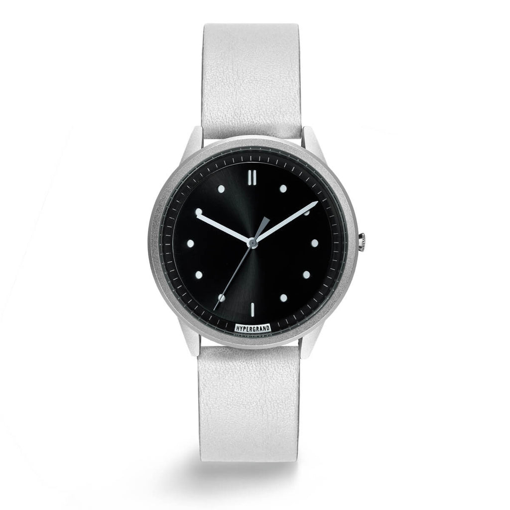 SILVER BLACK CLASSIC WHITE - quality watches made affordable by HYPERGRAND