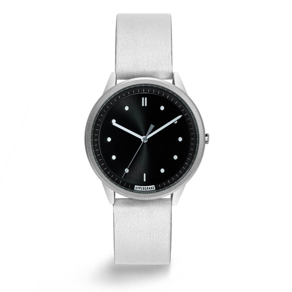Silver Black Classic - quality watches made affordable by HYPERGRAND