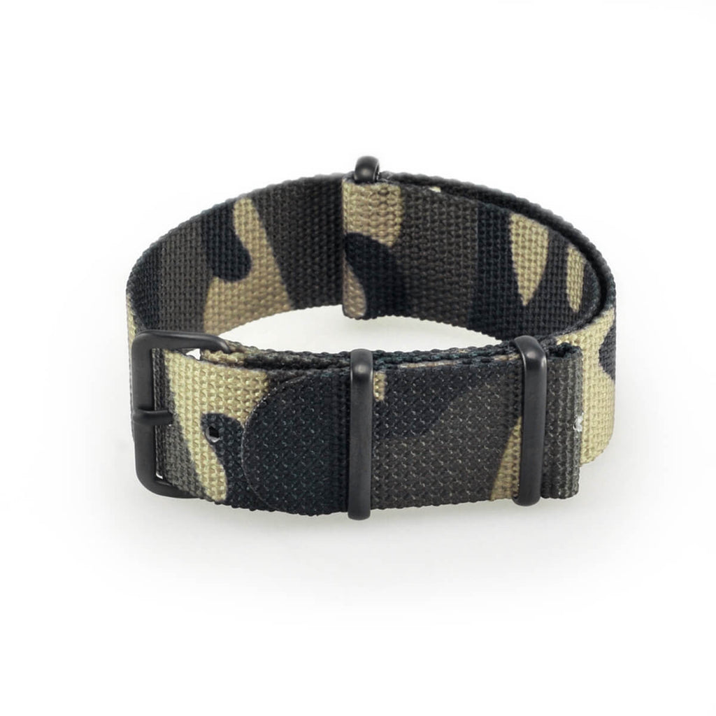 Jungle Camo Strap | 20mm - quality watches made affordable by HYPERGRAND
