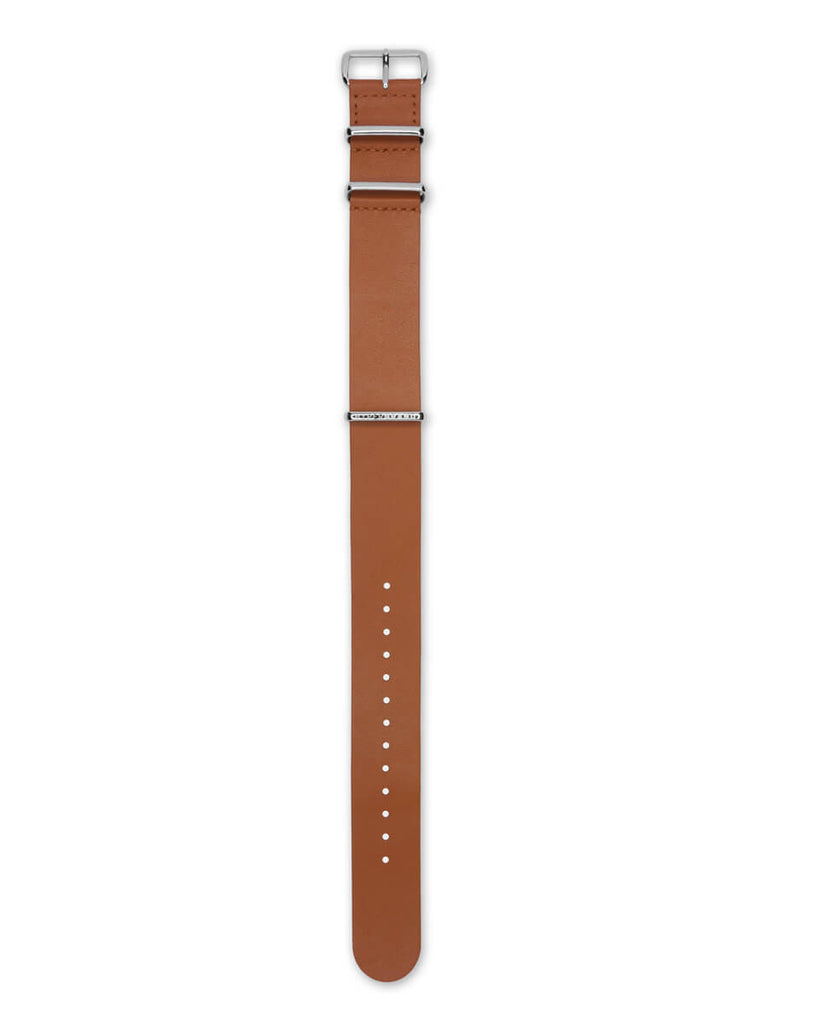 Honey Leather NATO Strap | 22mm - quality watches made affordable by HYPERGRAND