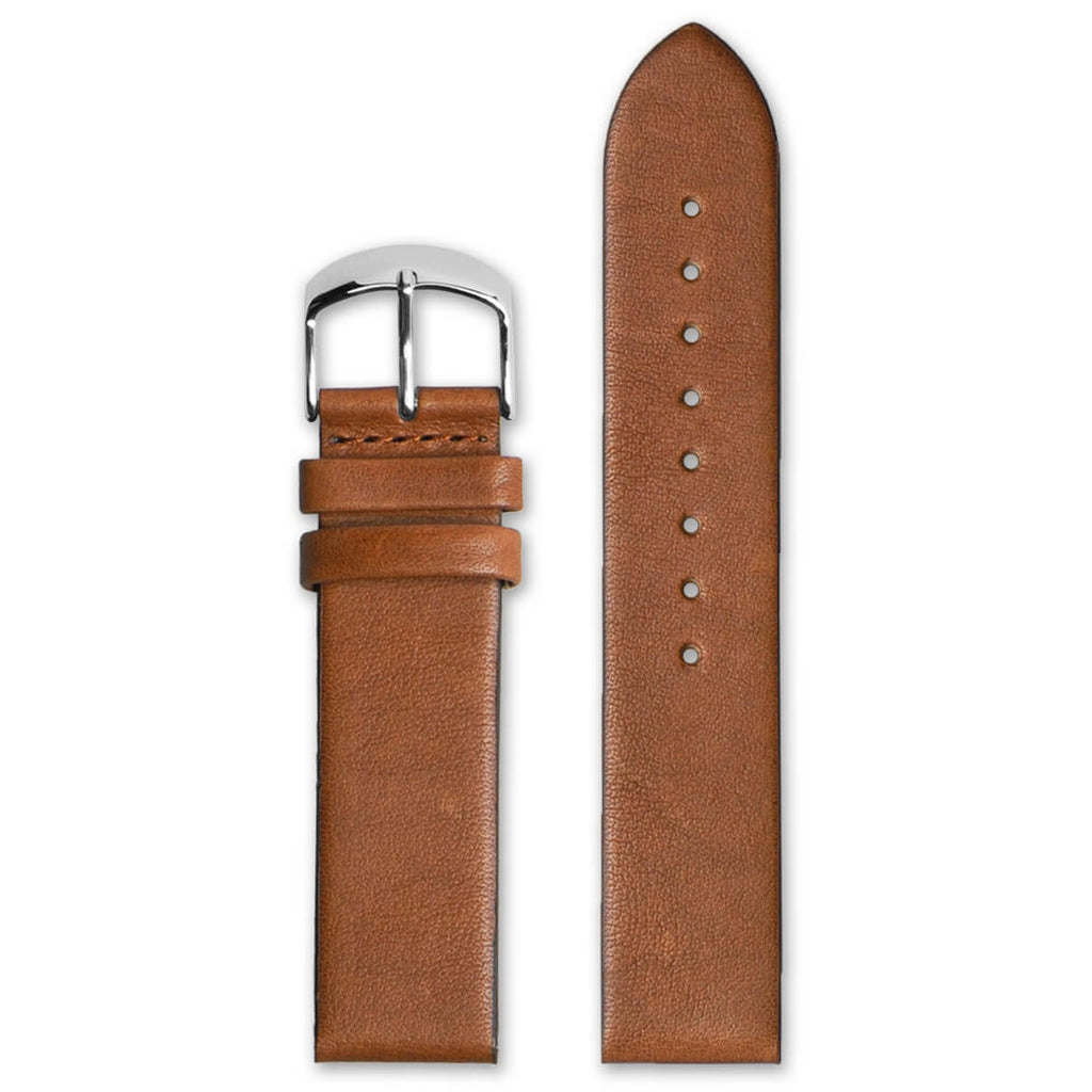 Classic Honey Leather Strap | 22mm