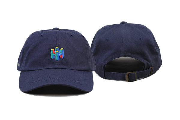 8BIT CAP - NAVY BLUE - quality watches made affordable by HYPERGRAND