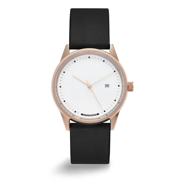ROSE GOLD WHITE CLASSIC BLACK - quality watches made affordable by HYPERGRAND