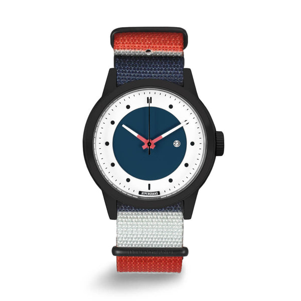 Black Blue Nato - quality watches made affordable by HYPERGRAND
