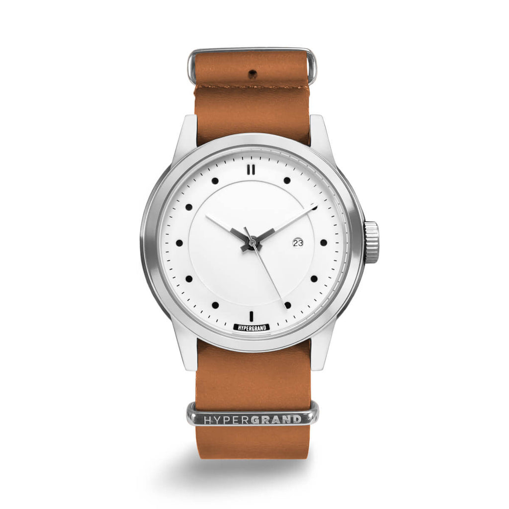 HONEY LEATHER NATO - quality watches made affordable by HYPERGRAND