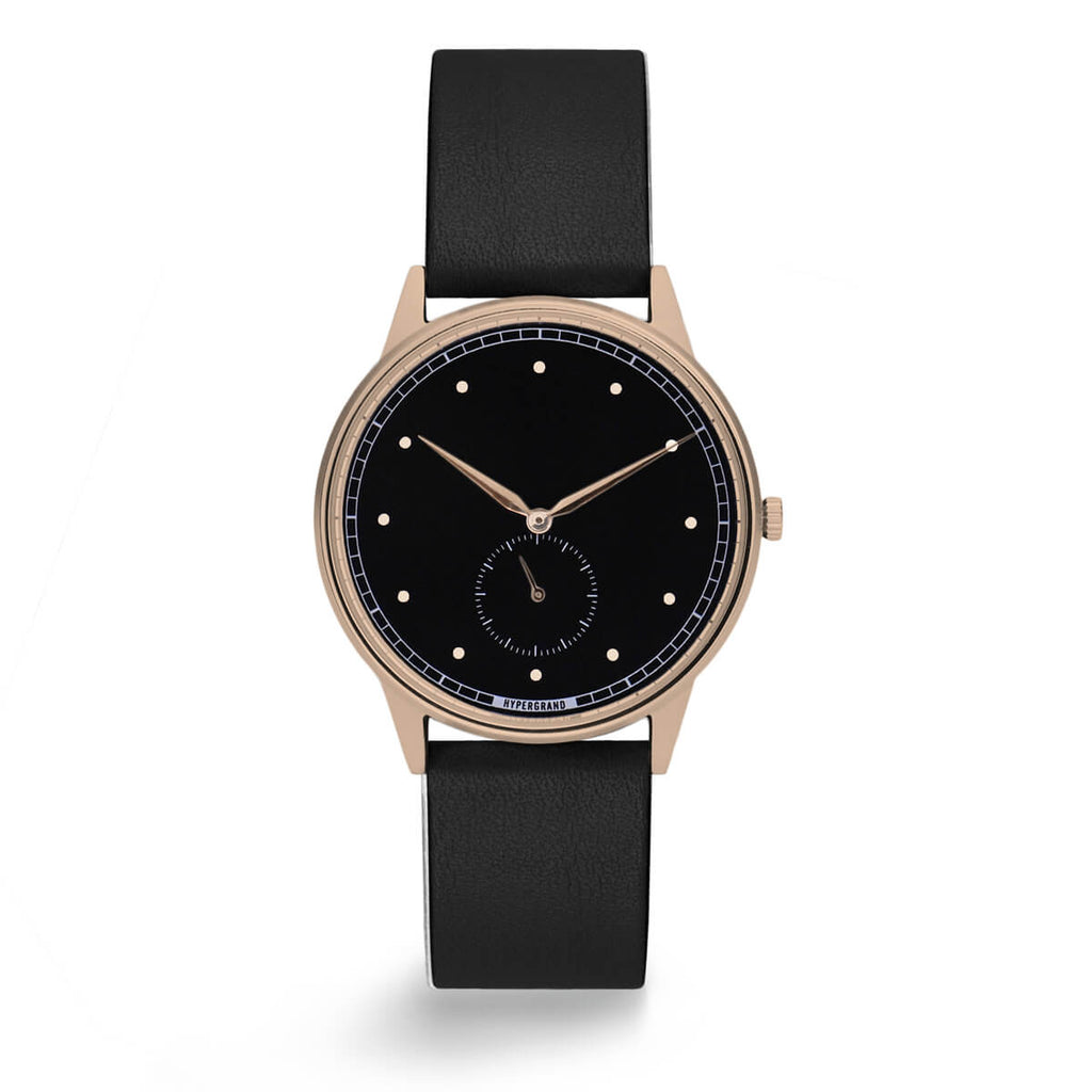 ROSE GOLD BLACK CLASSIC BLACK - quality watches made affordable by HYPERGRAND