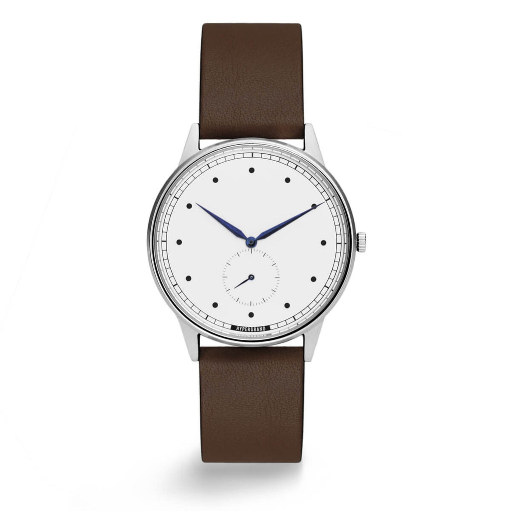 Silver White Classic - quality watches made affordable by HYPERGRAND