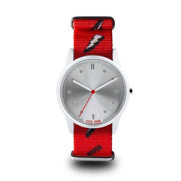 BOLT RED - quality watches made affordable by HYPERGRAND