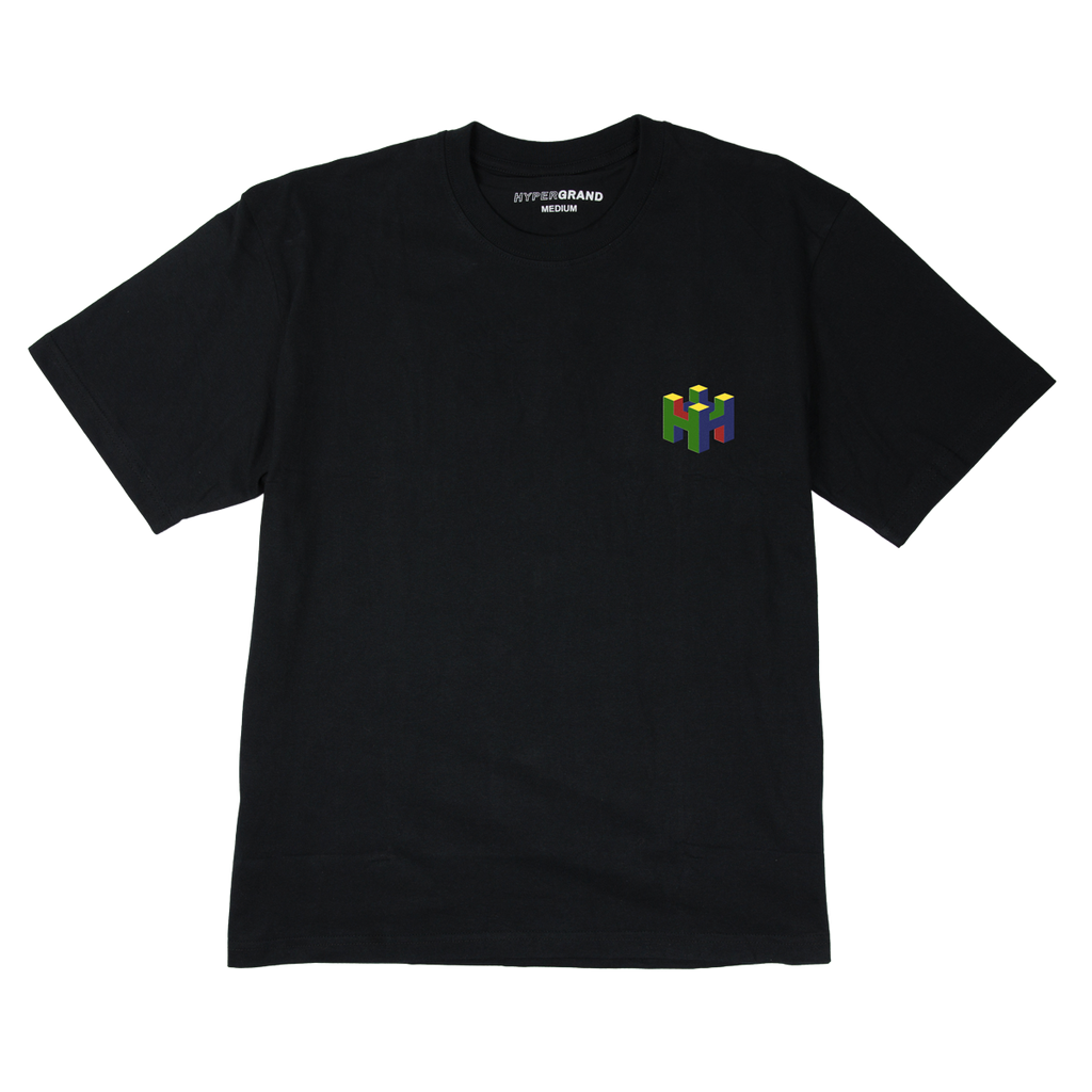 8BIT BLACK SHORT SLEEVE TSHIRT - quality watches made affordable by HYPERGRAND