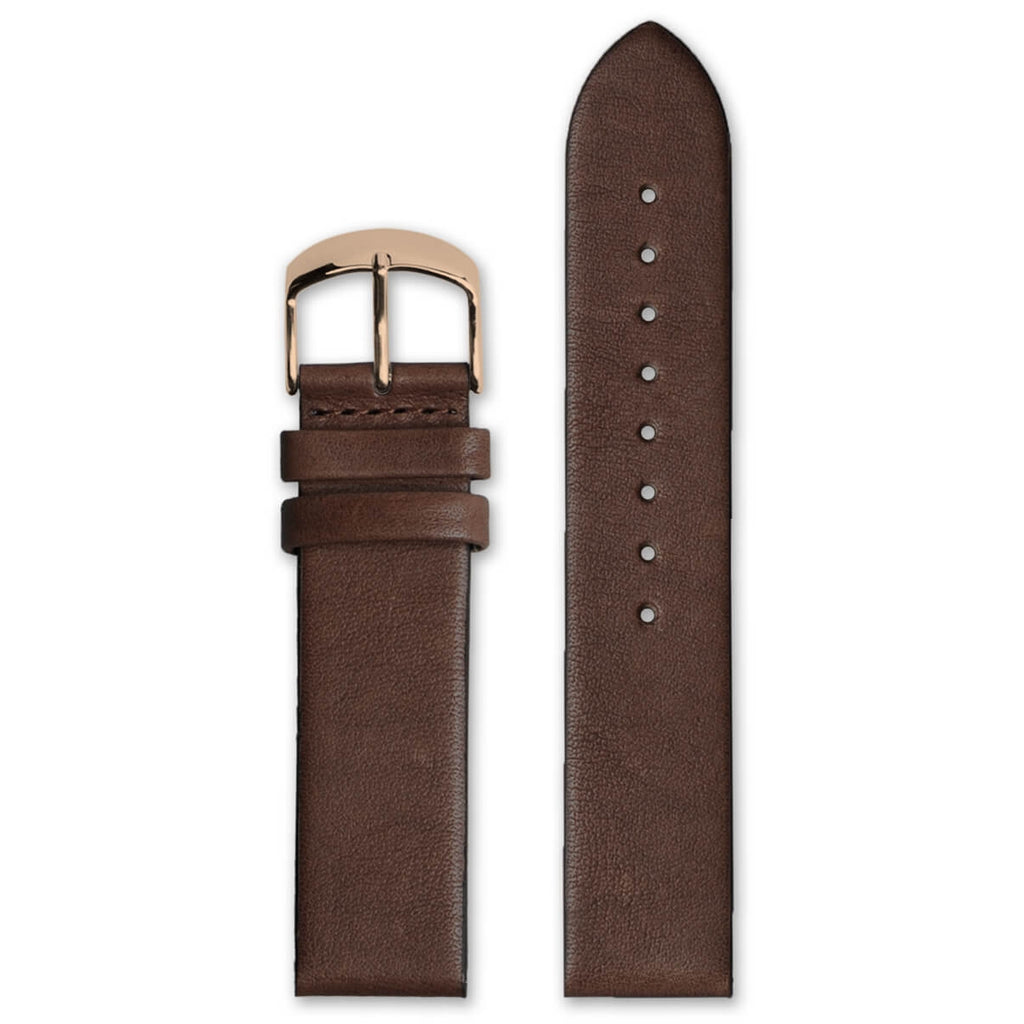 Classic Brown Leather Strap | 22mm - quality watches made affordable by HYPERGRAND