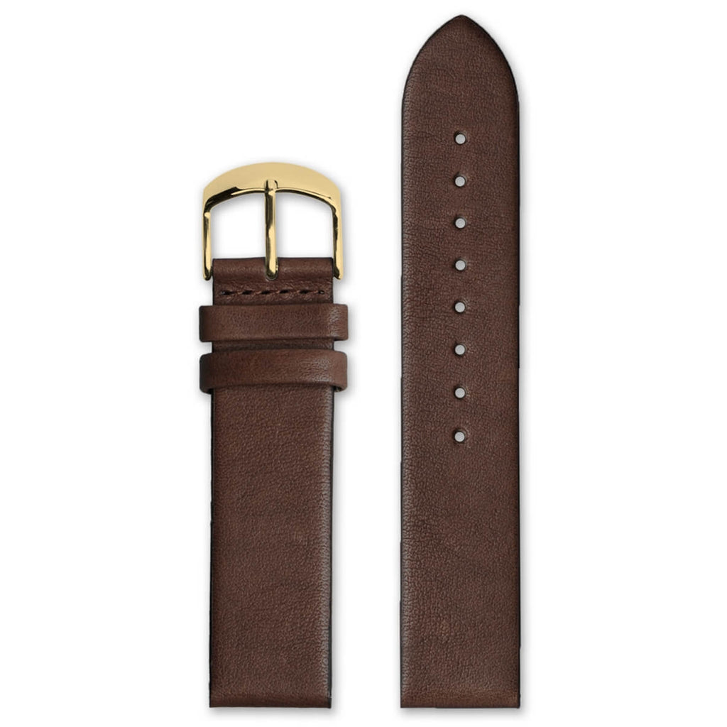 Classic Brown Leather Strap | 20mm - quality watches made affordable by HYPERGRAND