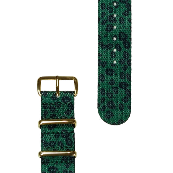 Jade Leopard Strap | 20mm - quality watches made affordable by HYPERGRAND