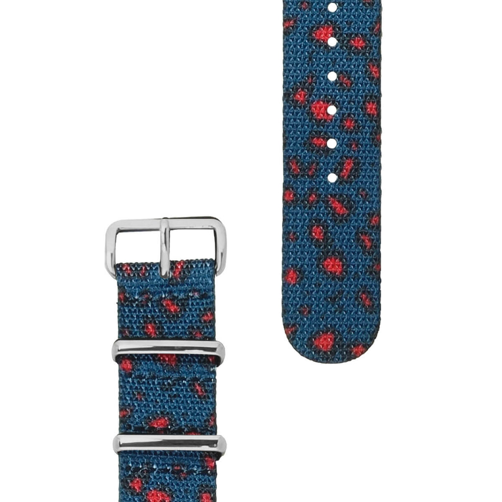 Miliband Leopard Strap | 20mm - quality watches made affordable by HYPERGRAND