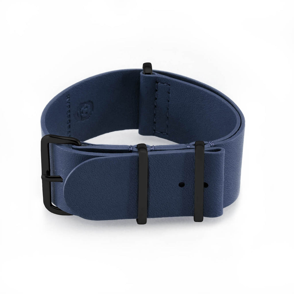 Nautical Blue Leather | 22mm - quality watches made affordable by HYPERGRAND
